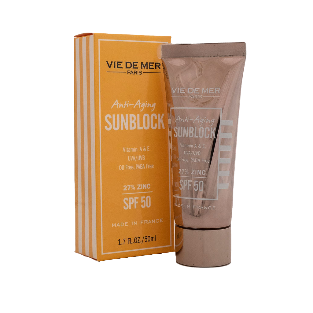 Anti-Aging Sun Block SPF 50 with 27% Zinc