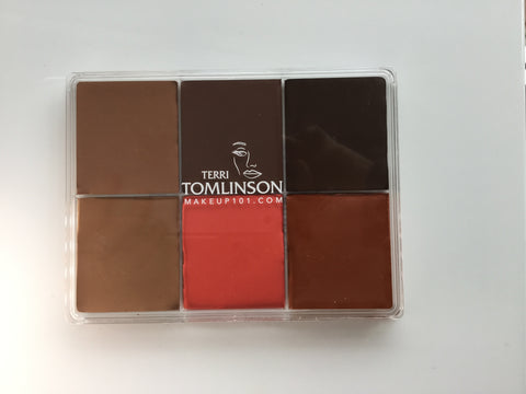 Skin Palette 2 - Deep Skin & Correction