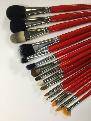 Full 16 Pc Brush Set