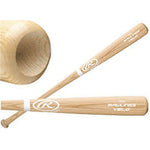 New Rawlings Velo 110VB0 Ash Wood Baseball Bat Bone Rubbed Natural