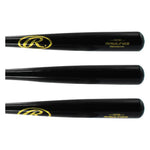 New Rawlings 155B Adirondack Big Stick Wood Bat Black