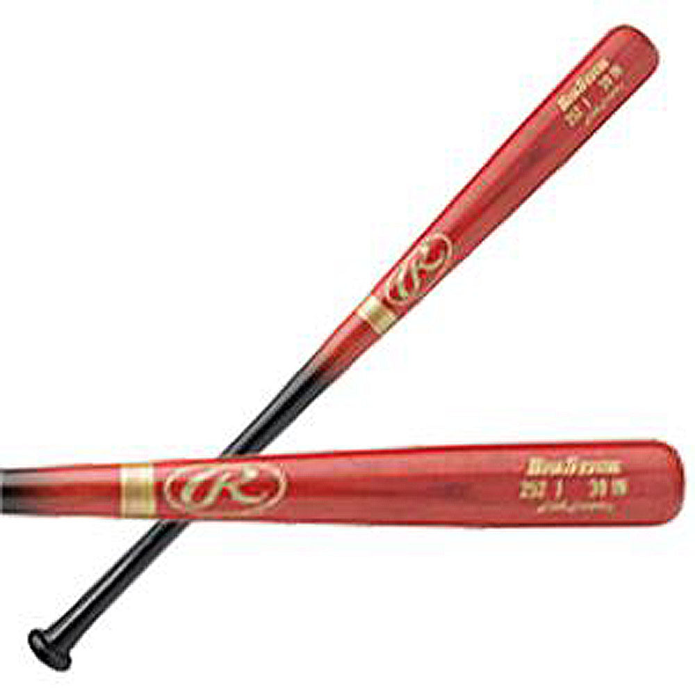 New Rawlings 252J Adirondack Big Stick Wood Bat red/blk