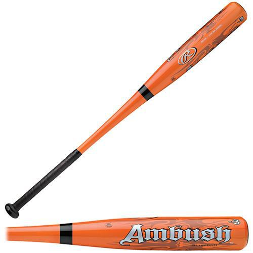 "New Rawlings Ambush BB1AM BESR Baseball Bat Red 2 5/8"" Drop -"