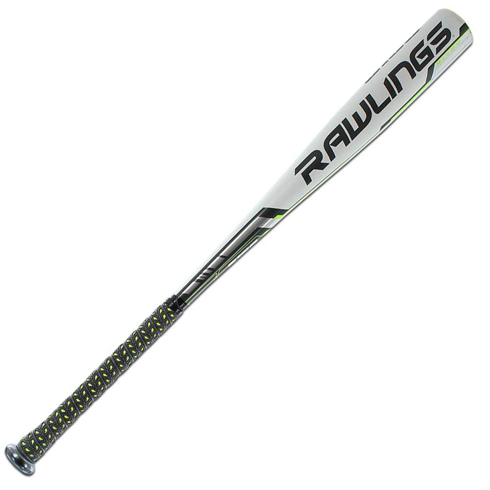 "New Rawlings 5150 BB75 BBCOR Baseball Bat 2 5/8"" Silver/White"