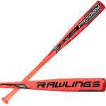 New Rawlings BBRP Prodigy Alloy Black/Orange BBCOR Baseball Bat 2 5/8 (-3)