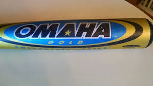 New Louisville Slugger Omaha Gold CB7 RARE Baseball Bat