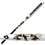 New DeMarini CFC13 CF5 BBCOR Baseball Bat White/Black/Tan -3 2013