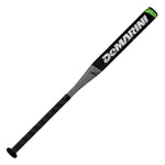 "New DeMarini Uprising Slowpitch Softball Bat 2 1/4"" Black/Green DMS14"