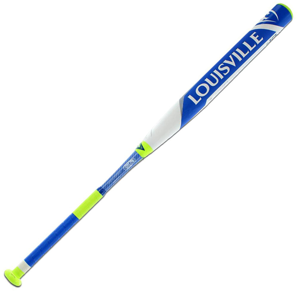 New Louisville Slugger LXT FPLX160 Fastpitch Softball Bat Blue/White 2 1/4