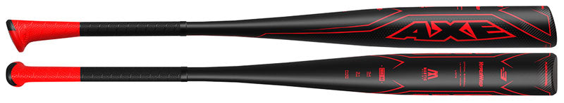 New Baden Axe Hyperwhip Fusion L138E BBCOR Baseball Bat Black/Red 2 5/8""