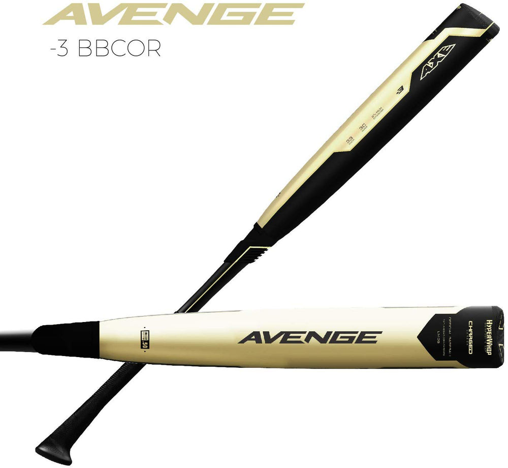 "New Axe L140G 2019 Avenge -3 Elite Baseball Bat 2 5/8"" Hybrid"