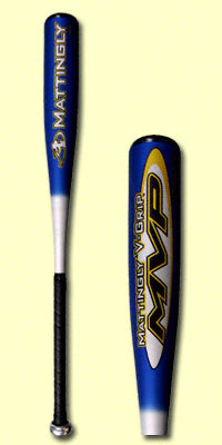 New Mattingly V-Grip MVP MVPSL Senior League Baseball Bat -5
