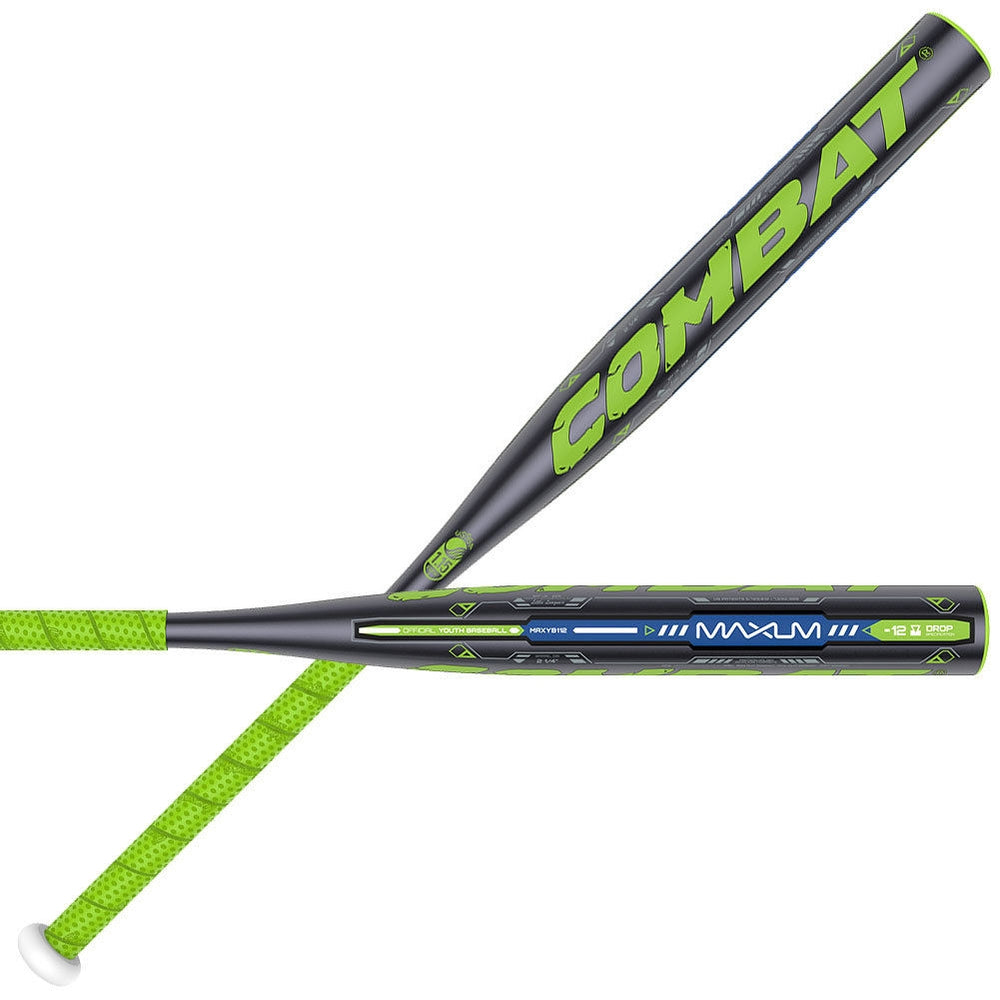 New Combat Maxum MAXYB112 Little Leaguee Baseball Bat Youth -12 NIW