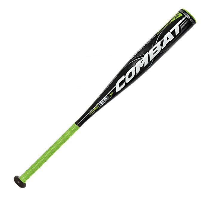 "New Combat Portent G3 SL PG3SL112 Senior League Bat 2 5/8"" Black/Green"