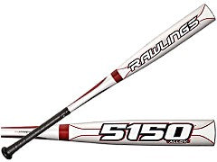 New Rawlings 5150 Alloy SL5150A5 Baseball Senior League Baseball Bat 2 5/8