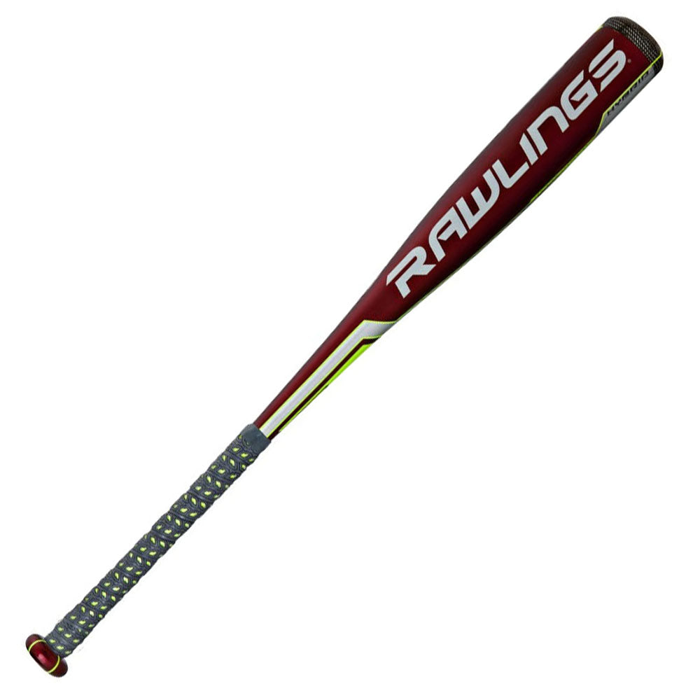 "New Rawlings Velo SL7V34 Senior League Baseball Bat Red 2 3/4"" Barrel"