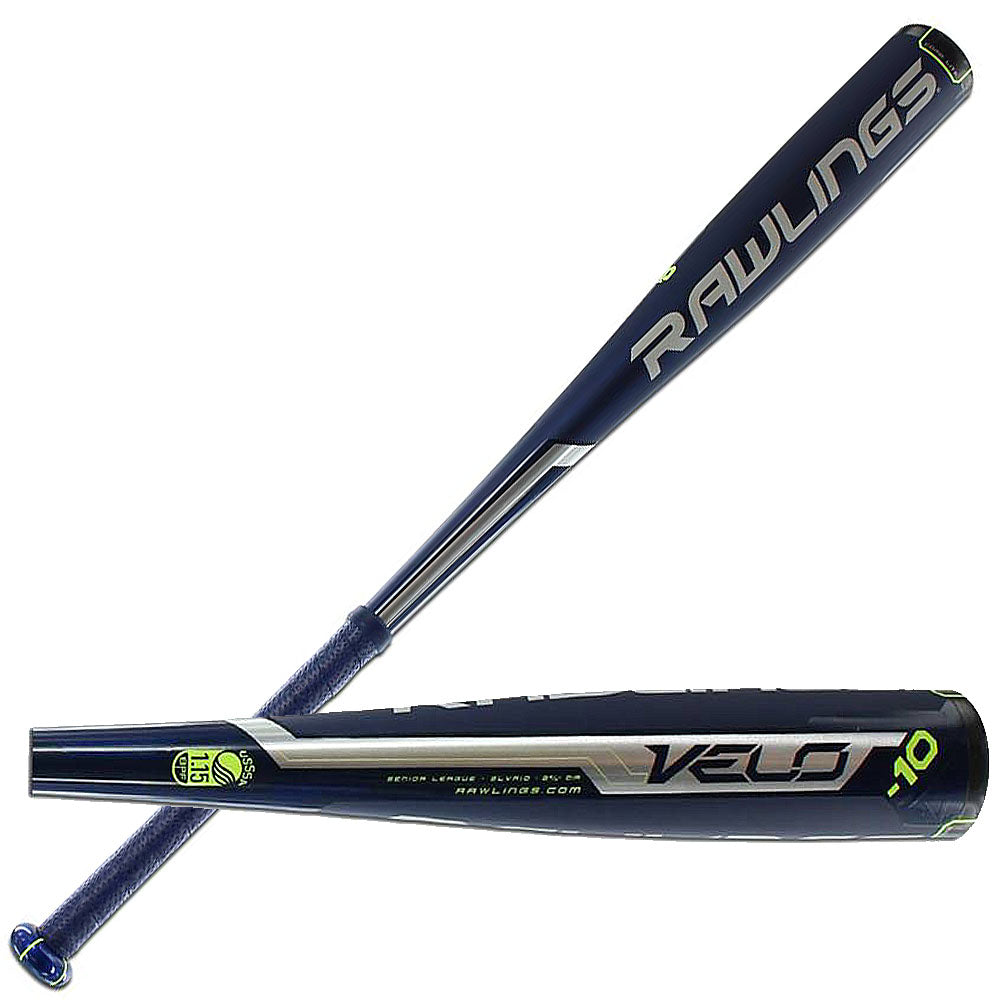 "New Rawlings Velo SLVR10 Senior League Baseball Bat 2 5/8"" 2016"
