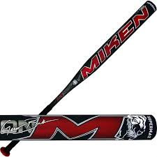 New Miken Nation M MNATMA Slowpitch Softball Bat Gray/Red