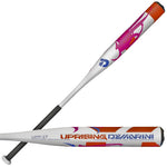 "New DeMarini Uprising UPF-17 Fastpitch Softball Bat 2 1/4"" White -12"