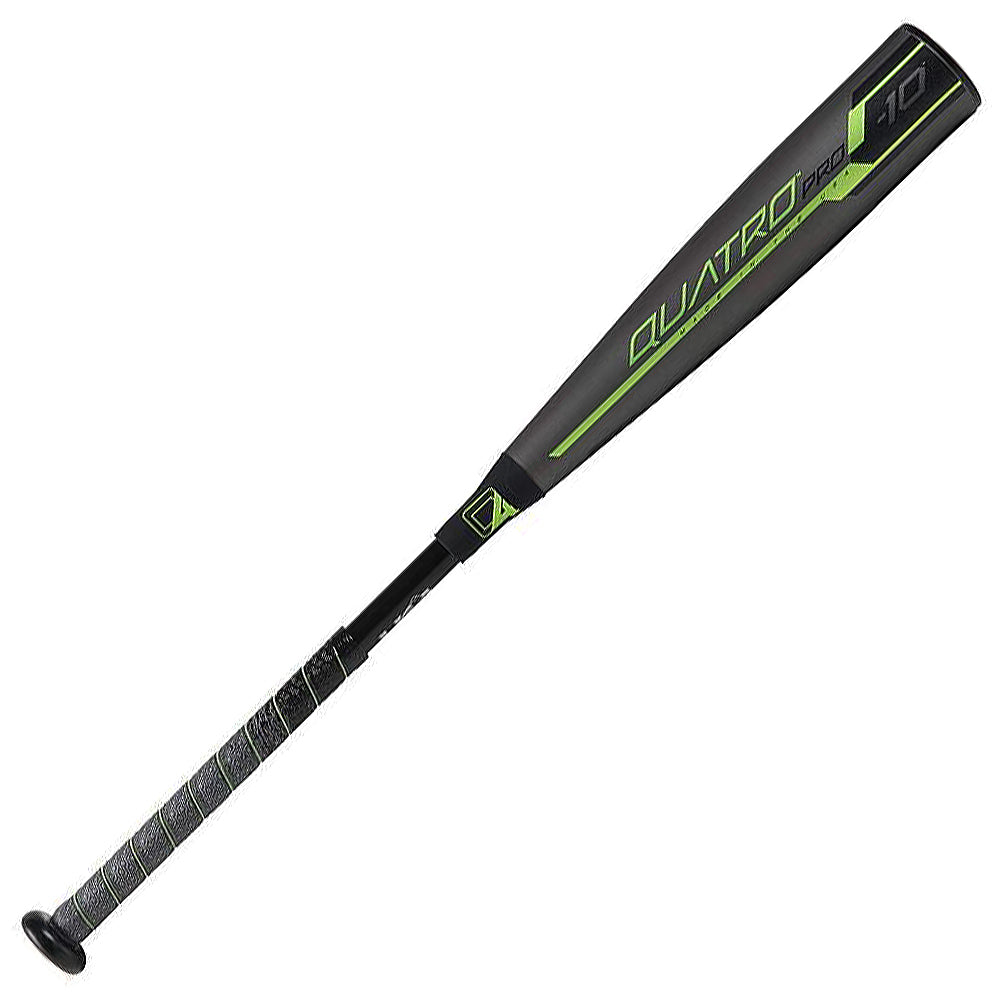 New Rawlings 2019 Quatro 2 5/8 -10 Pro USA Youth Baseball Bat