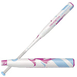 New DeMarini Vendetta VCP-17 Fastpitch Softball Bat White/Blue 2 1/4""