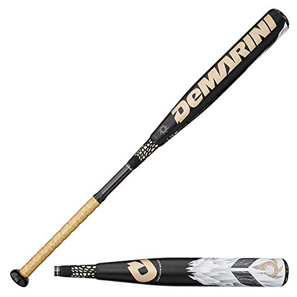 New DeMarini VDLV14 Voodoo Overlord Little League Baseball Bat Black (-13)