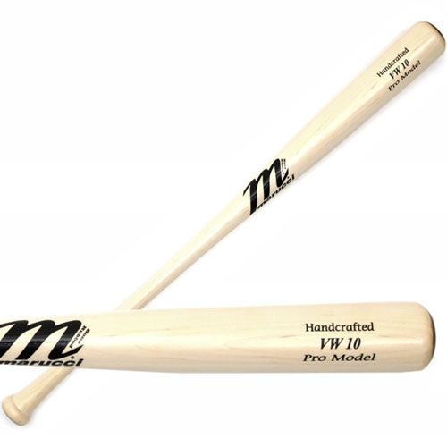 "New Marucci MVEIVW10-WW 34"" Vernon Wells Maple VW10 Pro Model Wood Baseball Bat"