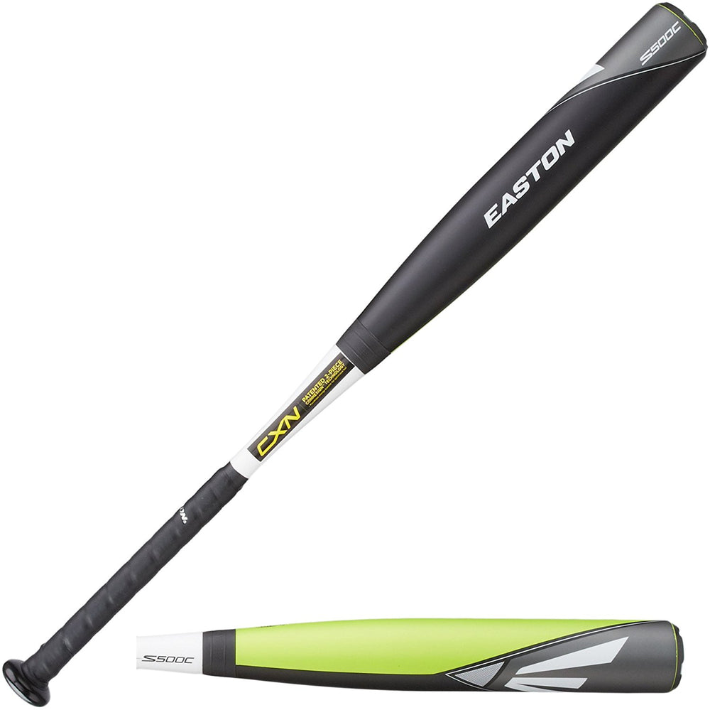 "New Easton S500C YB14S500C Little League Baseball Bat 2 1/4"" Black/Yellow"