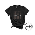 Postpartum Doula Repeat© Shirt - Birth and Babe Apparel