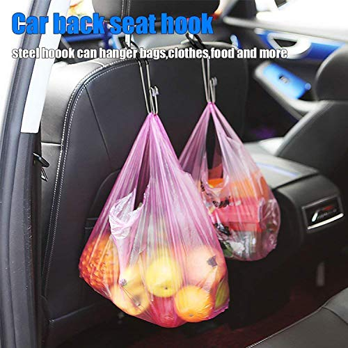Stainless Steel Car Seat Back Hooks