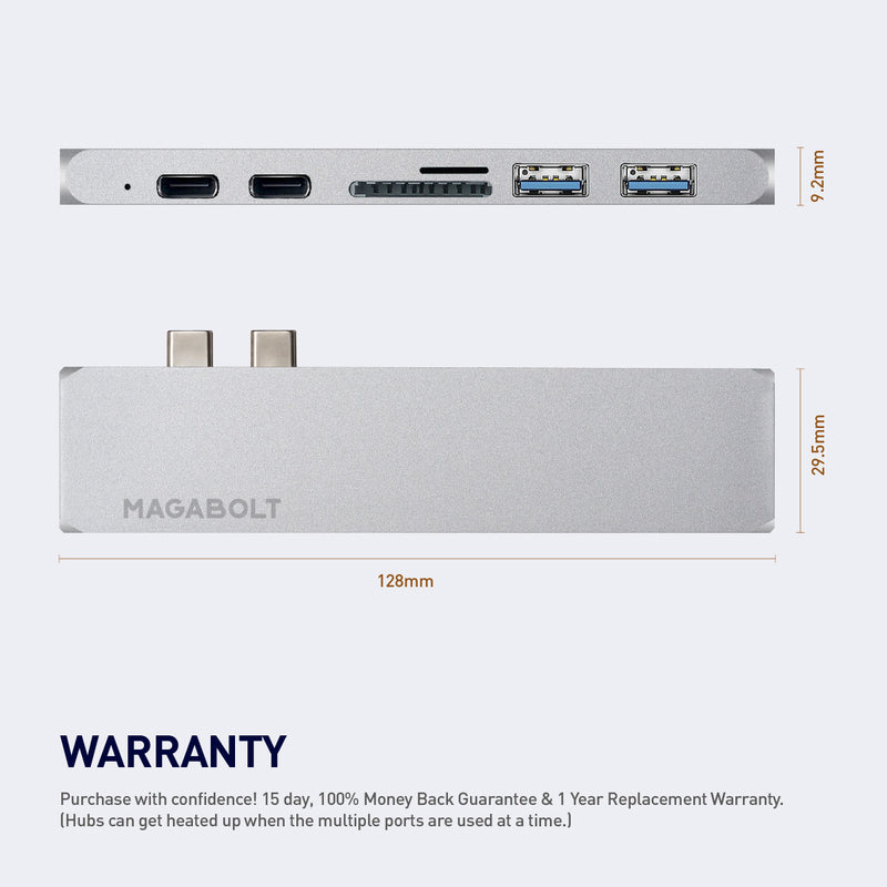 7-IN-1 USB-C HUB - MagaBolt