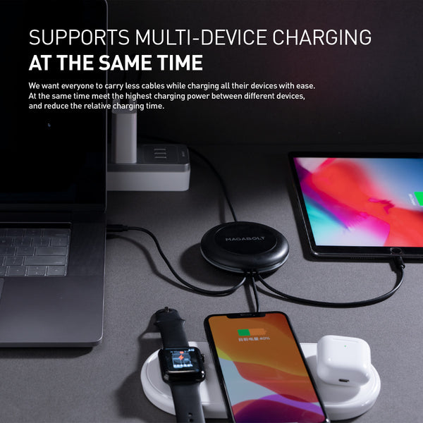 TRI-POWER 100W 1-TO-ALL PD CHARGING CABLE - MagaBolt