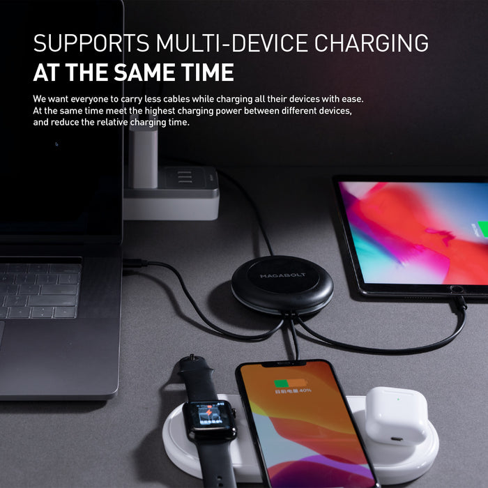 TRI-POWER 100W 1-TO-ALL PD CHARGING CABLE