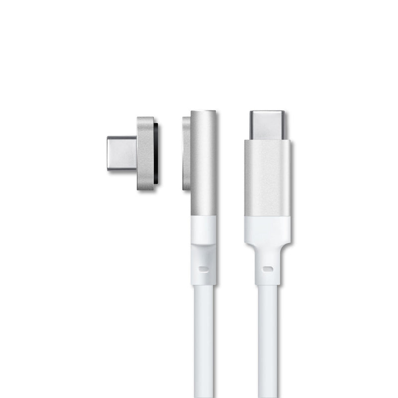 MAGX USB-C MAGNETIC CABLE - White - MagaBolt