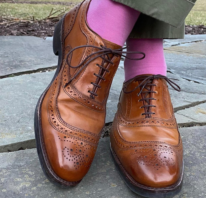 Allen Edmonds Brown Brogue Oxford Shoe