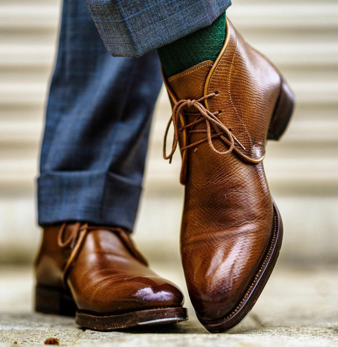 Antonio Meccariello Brown Calfskin Chukka Boot