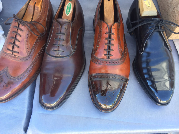 Beautiful Shoe Shine Before/Afters