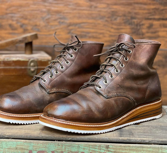 Vibram Brown Redwing 9111's Derby Boot