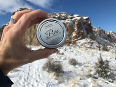 High Shine Paste Polish among the mountains of Smith Rock State Park