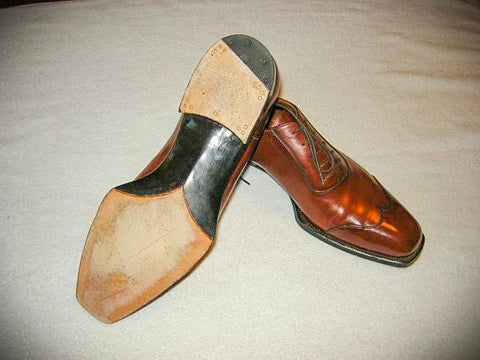 Bespoke Fiddle Back Oxford Shoes