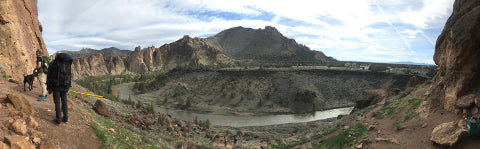 The Base of Red Wall at Smith Rock
