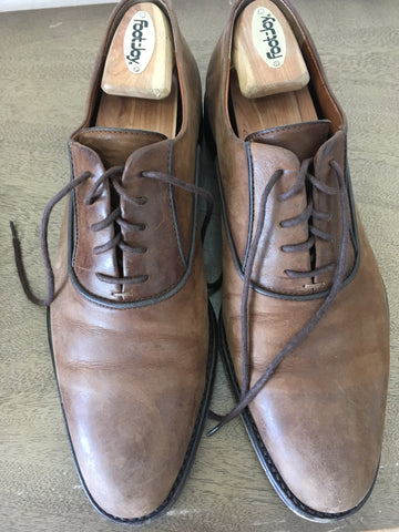 Classic Round or Plain-toe Oxfords Swiss Navyboot Calfskin