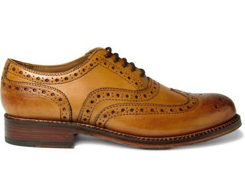 Full Brogue Men's Dress Shoe
