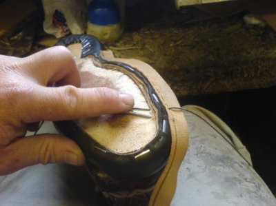 Hand Welting a Shoe