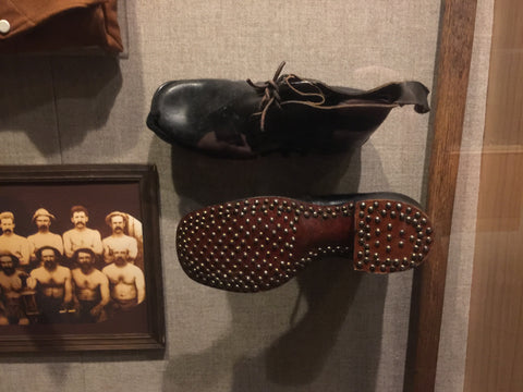 Miner's Hob-Nailed leather boots