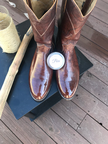 Proper brushing leads to beautifully shined and properly maintained leather shoes, boots, and other goods