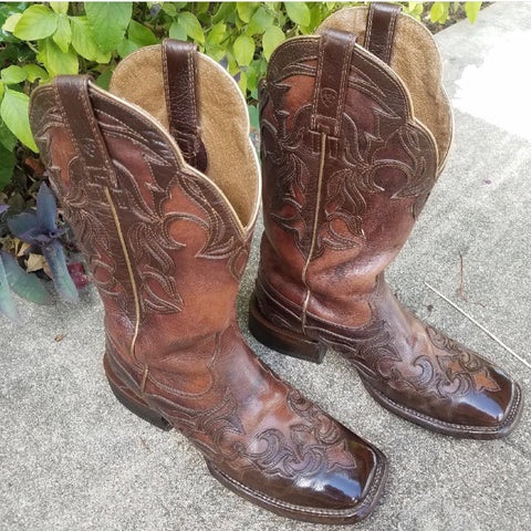 Texas Cowboy Boots Shined by Ricky D (@rickydandsonshoeshines)