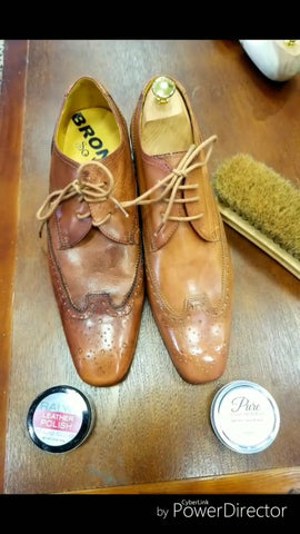 Wingtip Derbies High Shined by Dennis Berry (@dennisberry559)