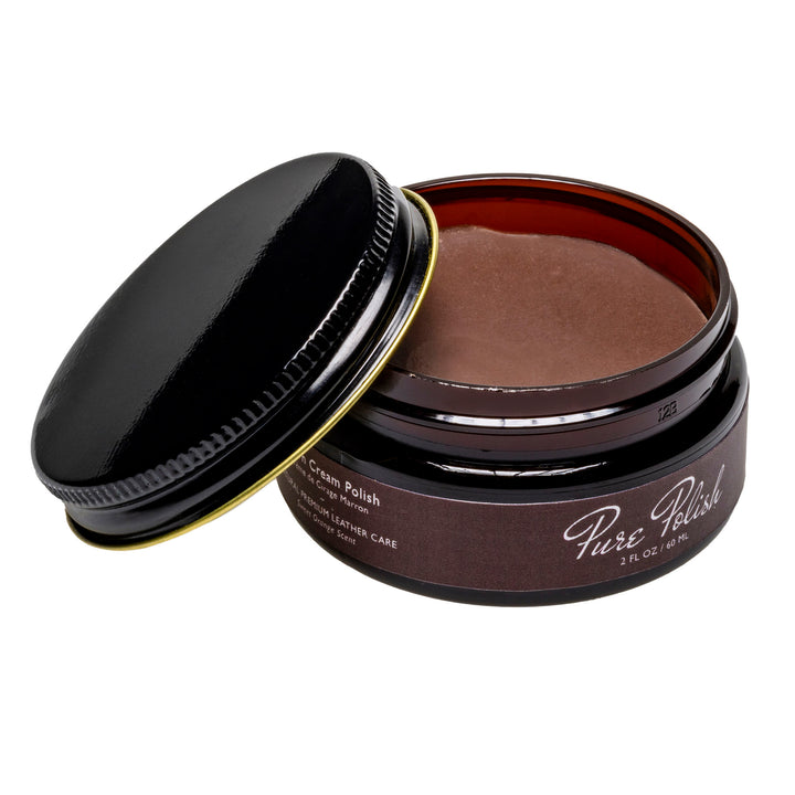 Brown Cream Polish Shoe Polish by Pure Polish