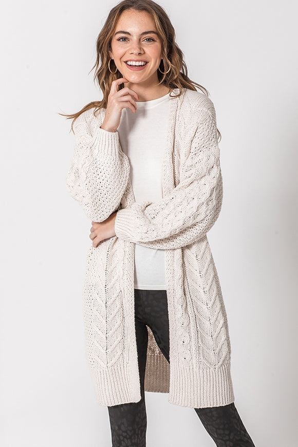 Autumn Oversized Sweater Cardigan - Other Colors Available